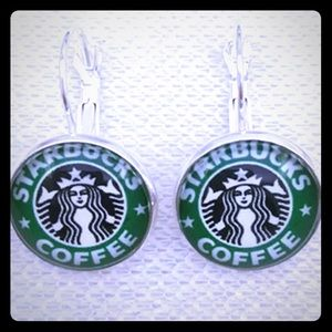 Starbucks Dangle Earrings